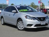 Clean CARFAX. Certified. 2017 Nissan Sentra FWD 1.8L 4