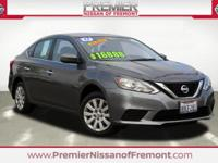 Clean CARFAX. Certified. Gun Metallic 2017 Nissan