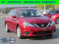 SV Trim, 1-Owner, Clean Carfax, 37 MPG's, Nissan