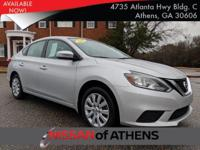 Come see this 2017 Nissan Sentra S. Its Variable