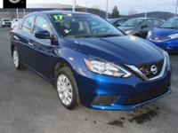 2017 Nissan Sentra S Williamsport area. BLUETOOTH,