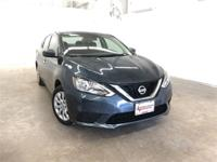 Graphite Blue 2017 Nissan Sentra SV FWD CVT with
