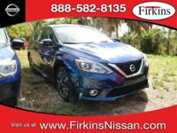 CARFAX One-Owner. Clean CARFAX. Blue 2017 Nissan Sentra
