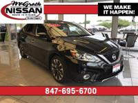 2017 Nissan Sentra SR CARFAX One-Owner.33/27