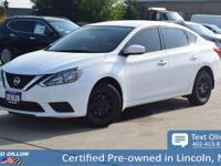 Come see this 2017 Nissan Sentra SV before someone