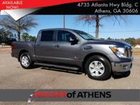 Come see this 2017 Nissan Titan SV. Its Automatic
