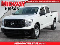 2017 Nissan Titan S  Options:  2.937 Axle Ratio|Wheels: