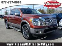 Come see this 2017 Nissan Titan Platinum Reserve. Its