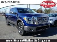 Look at this 2017 Nissan Titan PLATINUM RESERVE. Its