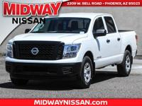 2017 Nissan Titan S 4WD.  Options:  2.937 Axle