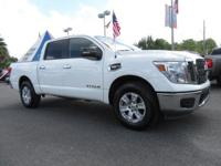 White 2017 Nissan Titan S 4WD 7-Speed Automatic 5.6L V8