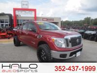 2017 NISSAN TITAN CREW CAB SV PACKAGE ROUGH COUNTRY
