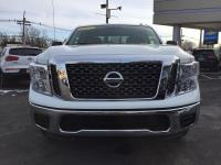 Only 16,165 miles on this 2017 Titan SV. 4WD and V8
