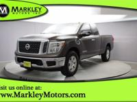 Our Carfax One Owner 2017 Nissan Titan SV 4x4 is