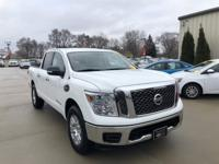 Our One Owner, Accident Free 2017 Nissan Titan SV Crew