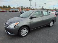 It's time to step up to our 2017 Nissan Versa SV that's
