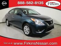CARFAX One-Owner. Clean CARFAX. Blue 2017 Nissan Versa