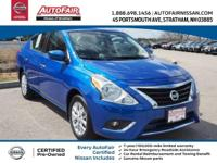 NISSAN CERTIFIED, 15 Alloy Wheels, 5.0 Color Audio