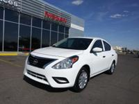 This 2017 Nissan Versa Sedan S is offered to you for