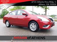 Check out this 2017 Nissan Versa Sedan SV. Its Variable