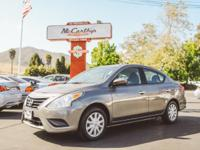Options:  2017 Nissan Versa Sedan|Carfax One-Owner.