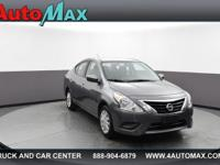 This 2017 Nissan Versa Sedan SV is offered to you for