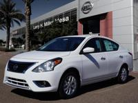 Don't miss out on this 2017 Nissan Versa 1.6 SV! It