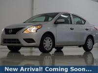 2017 Nissan Versa 1.6 S Plus in Brilliant Silver, This