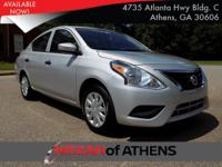 Come see this 2017 Nissan Versa Sedan S Plus. Its
