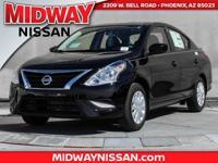 2017 Nissan Versa 1.6 S Plus 39/31 Highway/City MPG