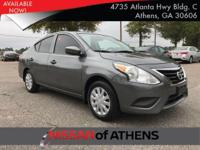 The Nissan Versa Sedan is fun, efficient, roomy and