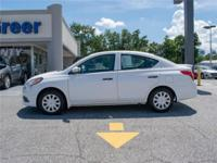 2017 Versa 1.6 S+ (CVT) 4dr Sedan Nissan At Hyundai of