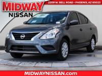 2017 Nissan Versa 1.6 S 36/27 Highway/City MPG