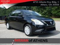 Look at this 2017 Nissan Versa Sedan S Plus. Its