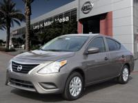 This 2017 Nissan Versa 1.6 S Plus boasts features like