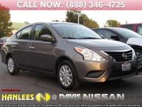 Options:  2017 Nissan Versa 1.6 Sv|Silver|Check Out