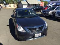Graphite Blue 2017 Nissan Versa 1.6 SV FWD CVT with