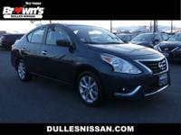 This outstanding example of a 2017 Nissan Versa Sedan
