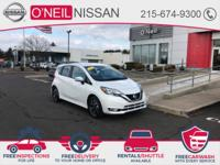 The Nissan Versa Note S speaks volumes about it's