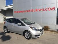 2017 Nissan Versa Note SV Brilliant Silver Fully