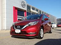 CARFAX One-Owner. Certified. Red 2017 Nissan Versa Note