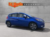 Versa Note SL, 4D Hatchback, Metallic Blue, Alloy
