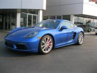 *New Arrival* *LOW MILES* *This 2017 Porsche 718 Cayman