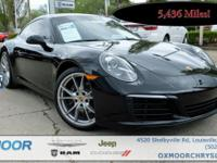New Price! Porsche 911 3.0L 6-Cylinder Turbocharged