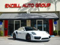 Introducing the 2017 Porsche 911 Turbo Coupe featuring