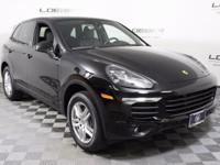 New Price! Clean CARFAX. 2017 AWD Porsche Certified.