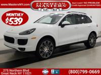 This Incredible White 2017 Porsche Cayenne Platinum