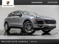 2017 Porsche Cayenne located at Porsche Wichita.