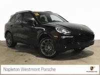 CARFAX One-Owner. Clean CARFAX. Black 2017 Porsche