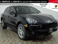 2017 Macan 3FU Panoramic Roof System 4A3 Seat Heating